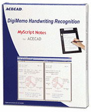 NEW Acecad DigiMemo Handwriting Recognition Software