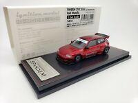 1:64 Ignition Honda Civic EG6 PANDEM Red Metallic IG1414 Tarmac Works Exclusive