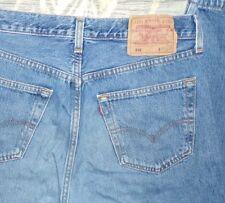Jean vintage denim Levis 501 bleu taille W32 L30