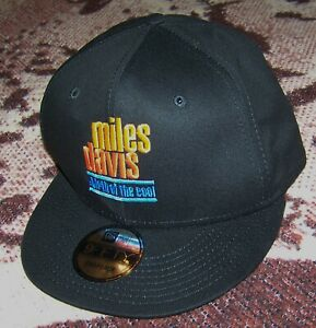NWT NEW ERA 9FIFTY Cap Hat MILES DAVIS BIRTH OF THE COOL MOVIE Adjustable Black