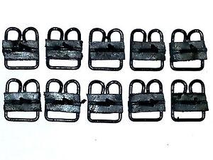 "GM 15/16""x1-5/32 Body Belt Side Door Top Moulding Molding Trim Clips Clip 10pc T"