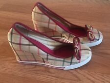 Womens Coach Wedge Heels Pre-Owned Size 8.5