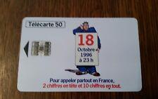 Telecarte 50 unités le 18   très bon état