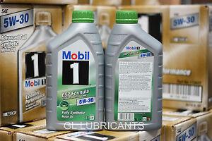 1 x 12 Litre BOX Mobil 1 Engine Oil ESP 5W30 VW AUDI BMW FORD JEEP PSA