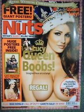 Nuts magazine May 2011 Lucy Pinder Queen of Boobs + Huge Poster 8 X A4 Size