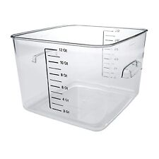 Plastic Space Saving Square Food Storage Container For Kitchen