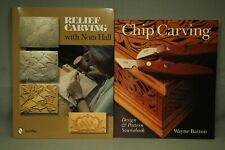Rilievo Incisione con Nora Sala Chip Design & Motivo Libro Legno