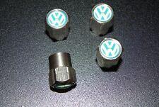 Volkswagen Alloy Car Wheel Tyre Valve Dust Caps Covers Tire Set 4