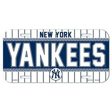"""NEW YORK YANKEES 6""""x12"""" OFFICIAL LOGO LICENSE PLATE CAR BRAND NEW WINCRAFT"""
