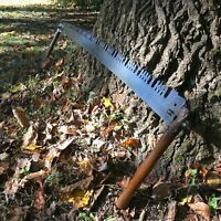 "Vintage LARGE 2 Man Crosscut Saw Lumberjack 60"" Blade Very Good Condition"