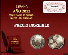 ESPAÑA MONEDA 30 EUROS AÑO 2012 - NUEVA - SIN CIRCULAR -OCASION
