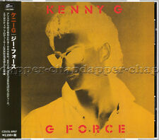"Kenny – ""G Force"" + 8 BONUS Tracks ⬤ 𝗦𝗘𝗔𝗟𝗘𝗗 2016 CD on Japan Solid + OBI"