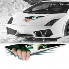 3D Car Sticker Stereoscopic Simulated Eye Peep Waterproof Auto Body Decal Decor