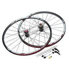 Bicycle Carbon Front/Rear Wheelset 26'' 24H Clincher Carbon Fiber Wheels CNC
