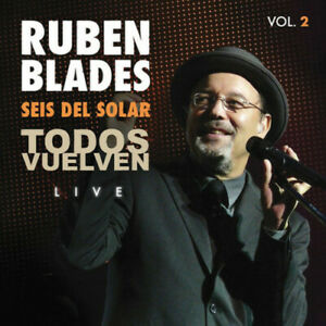 Ruben Blades & Seis - Todos Vuelven Live Vol. 2 [New CD] Digipack Packa