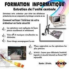 FORMATION INFORMATIQUE, ENTRETIEN DE L'UNITE CENTRALE - VIDEO A TELECHARGER