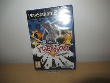 PS2 Freak Out Extreme Freeride new sealed pal version