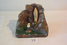 C97 Souvenir de Lourdes Vierge dans la grotte signée