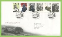 G.B. 2005 Jane Eyre set on Royal Mail First Day Cover, Tallents House