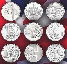 Rare 2018 Alphabet A-Z 10p Ten Pence Coins Bond, Angel  ALL IN STOCK UNC COINS