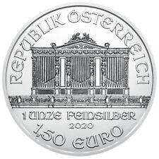 WIENER PHILHARMONIKER * 2020 * SILBERMÜNZE * 1,50 EURO * SOFORT VERFÜGBAR
