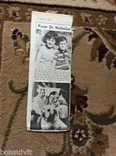 k2-5  ephemera 1966 picture christine paul atkins st nicholas philip graham west