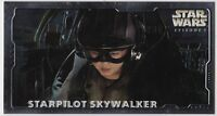 STAR WARS TOPPS EPISODE 1 SERIES 2 WIDEVISION HOBBY EMBOSSED FOIL H-E5 STARPILOT