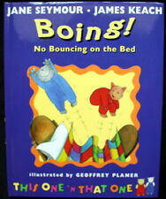 BOING! No Bouncing on the Bed signed by JANE SEYMOUR & JAMES KEACH!