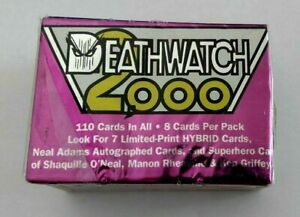 Classic Deathwatch 2000 Trading Cards Complete Set 1-100