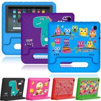 For Amazon Fire 7 / HD 8 -- Kids EVA Foam ShockProof Handle Cover Stand Case