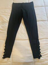 Pink Victorias Secret Yoga  leggings Size Med. Black