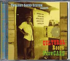 Reggae Music CD Twilight Sound Cultural Roots Showcase MRecords Dub Sealed CD480
