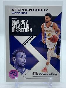 STEPHEN CURRY #21 - 2019-20 CHRONICLES Basketball - PINK Parallel