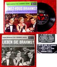 EP Aimez Vous Brahms Lieben Sie Brahms Goodbye Again Yv