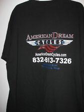 preown 3X AMERICAN DREAM CYCLES tshirt The Woodlands Texas TX shirt 3xlarge