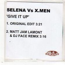 (GD494) Selena vs X.Men, Give It Up - 2001 DJ CD