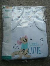 NEW Disney Winnie The Pooh Little Roo Pack of 2 Sleepsuits - Age 12-18 Months