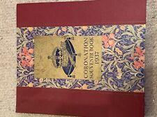 EDWARD 8th - CORONATION SOUVENIR BOOK 1937 -  COLLECTABLE - DAILY EXPRESS