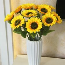Artificial Flower Home Wedding Living Room Party Table Decor Silk Sunflowers,