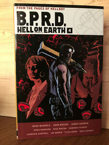 B.P.R.D. Hell on Earth Vol 4 Dark Horse Comics Mike Mignola HC/DJ 2018 1st Print