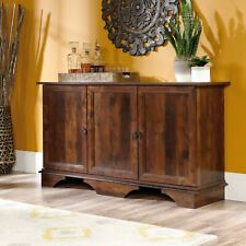 Cabinet Sideboard Buffet Storage Credenza Cupboard Curado Wood Cherry Finish
