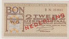 1940-45 Nebengebiete Niederlande Bon voor 2 kilogram ijzer en staal Rijksbureau