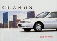 Kia Clarus Prospekt 1996 Autoprospekt Broschüre brochure catalog prospetto Auto