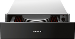 GRUNDIG GWS2151B Warming Drawer - Black Glass