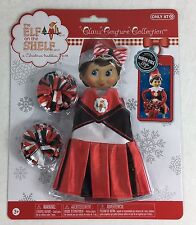 Elf on the Shelf Claus Couture Spirited Cheer Gear Red Cheerleader Outfit NEW