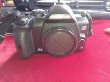 Olympus EVOLT E-520 10.0MP Digital SLR Camera-Body with 3 lenses and accessories