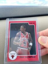 1986 STAR Co MICHAEL JORDAN CHICAGO BULLS 1984 OLYMPIAN  #3 ROOKIE BASKETBALL