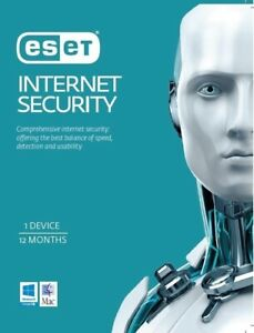 ESET Internet Security 1 Device 1 Year ESD Key