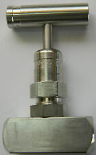 Rising Plug Screwed-Bonnet Needle Valve - Stainless Steel