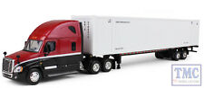 60-0305 1st Gear Freightliner Cascadia Red & Black Cab with White Container